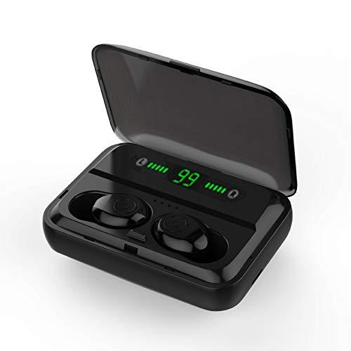 Auriculares Bluetooth 5.0 Verdadero Inalámbrico Bluetooth TWS Auriculares estéreo de música para deportes trabajo al aire libre