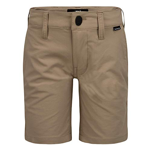 Hurley Boys' Dri-FIT Walk Shorts, Khaki, 12