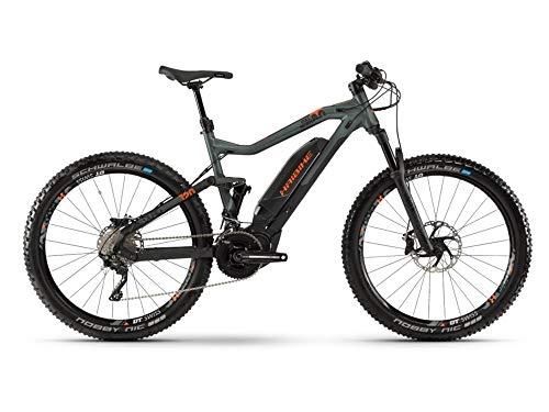 HAIBIKE Sduro Fullseven 8.0 Yamaha 500Wh 20v Nero/Verde Oliva Taglia 44 2019 (eMTB all Mountain)
