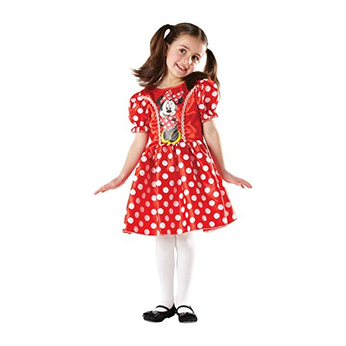 Rubie's-déguisement officiel - Disney- Déguisement Classique Minnie-Taille S 3-4 ans- I-883859S