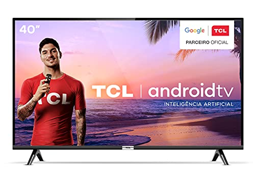 Smart TV LED 40' Full HD Android TCL 40S6500, Wi-Fi, HDR, Inteligência Artificial, 2 HDMI, 1 USB