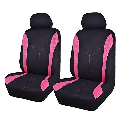 Flying Banner 6 pcs Fashion Mesh Universal Passform entworfen Auto Sitzbezüge Set