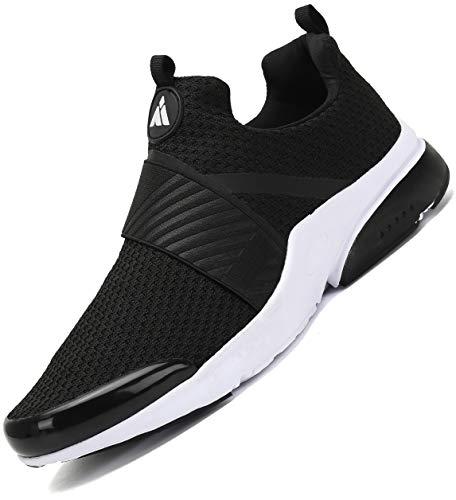 Zapatillas Gimnasio Hombre Zapatos Running Deporte Liviano Deportivas para Correr Trail Negro 44 EU