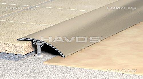 Übergangsprofil, Anpassungsprofil, Ausgleichsprofil 30 mm - Alu eloxiert: natur-silber (C-01) (1)
