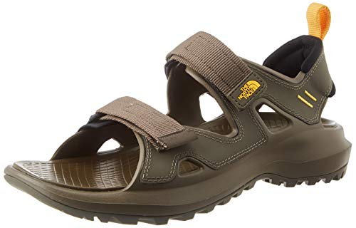 The North Face Mens Hedgehog Sandal III, Walking Shoe, Brown, 48 EU