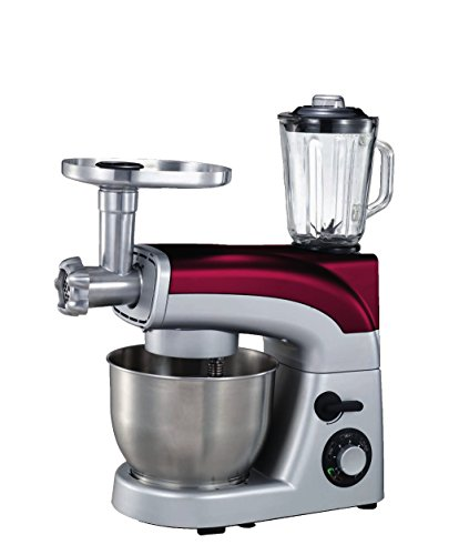 Zephir ZHC103A 1200W 5.5L Rosso, Argento robot da cucina