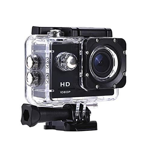 Nihlsen Cámara de plástico 30M impermeable Go Diving Pro Sport Mini DV 1080P Cámara de video Casco de bicicleta Car Cam Dvr Outdoor