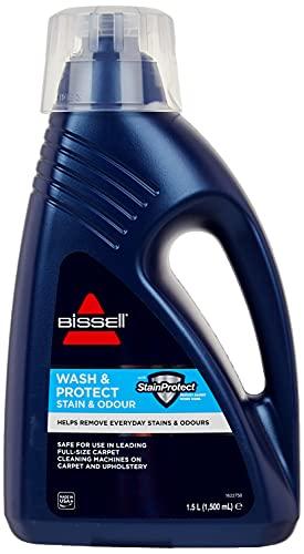 Bissell 1086N Wash&Protect Reinigungsmittel für alle Teppichreiniger/Waschsauger, 1 x 1,5 Liter