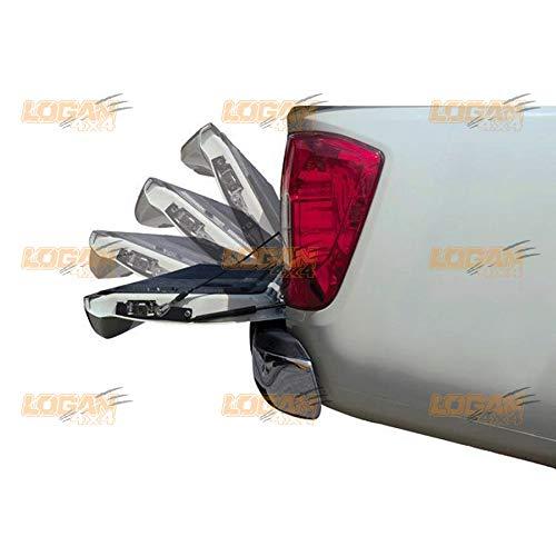 Logan4x4 Slow Down Heckklappendämpfer Heckklappe Gasdruck Stoßdämpfer Gasfeder Kit für Nissan Navara NP300 2014 – 2021 Zubehör