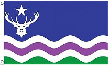 AZ FLAG Bandera del Parque Nacional DE Exmoor 150x90cm - Bandera DE Exmoor 90 x 150 cm