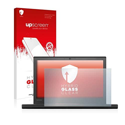 upscreen Hybrid Glass Panzerglas Schutzfolie kompatibel mit Lenovo ThinkPad X260 9H Panzerglas-Folie