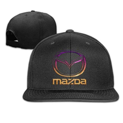 mn Adjustable Snapback Baseball Hat&Cap Mazda Black Hüte, Mützen & Caps