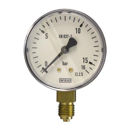 Manometer, NG63, 0-16 bar - WIKA 111.10 - 9052810