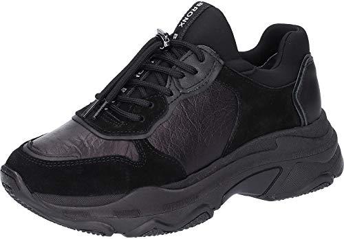 Bronx 66167-G Damen Sneakers Black, EU 39
