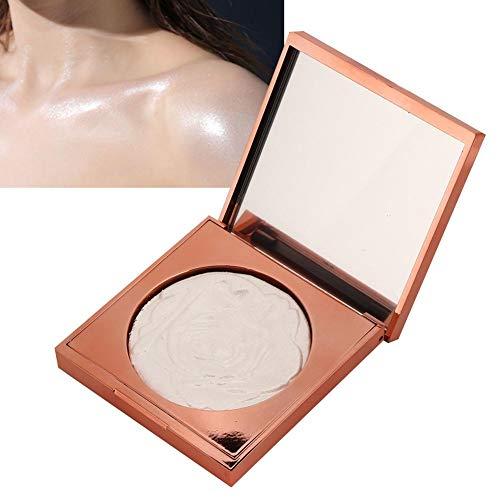 Highlighter Powder Palettes Polvo para resaltar Polvo brillante Maquillaje para el contorno de la cara Cosmética que oculta eficazmente los poros que presentan un efecto de maquillaje natural(1#)