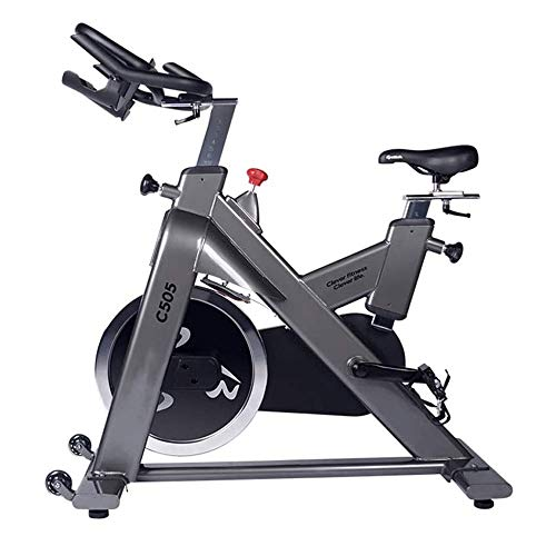 Bicicleta estacionaria Bicicleta estática, Bandas de fitness Impulsor ejercicio de resistencia de bicicletas, 40lb volante pulso Sensors Monitor Toe correas de transmisión del cinturón suave y silenci