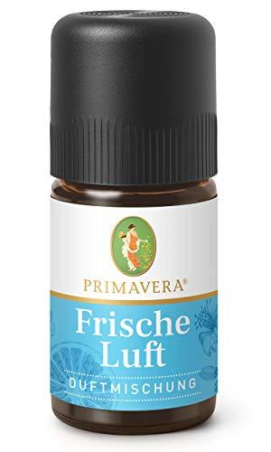 PRIMAVERA Duftmischung Frische Luft 5 ml -Pfefferminze, Zitrone und Myrte - Aromaöl, Duftöl, ätherisches Öl Aromatherapie - klärend - vegan