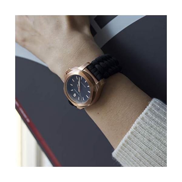 Victorinox Mujer I.N.O.X. V – Reloj de Acero Inoxidable de Cuarzo