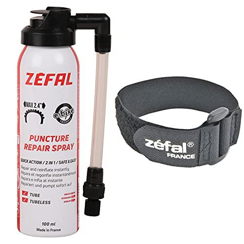 Zefal 1128  Spray antipinchazos, Negro/Gris (Schwarz/Grau)
