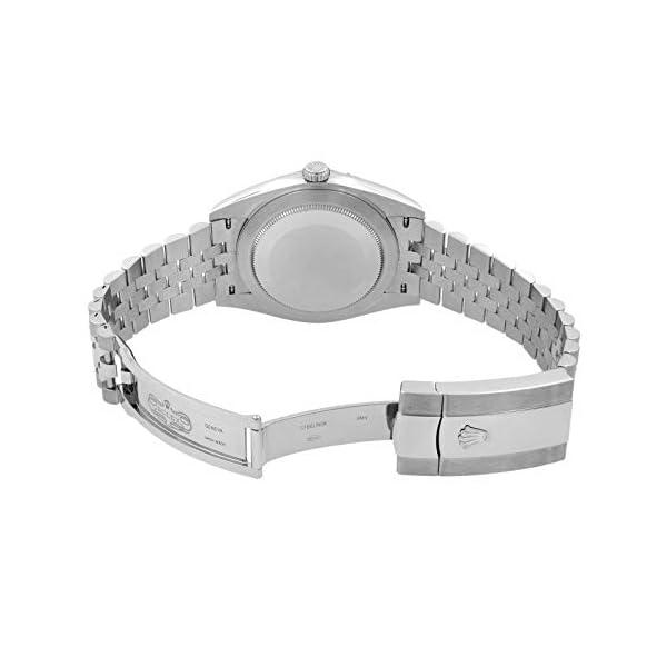 Fashion Shopping Men's Rolex Datejust 41 Dark Rhodium Dial Stainless Steel Watch on Jubilee