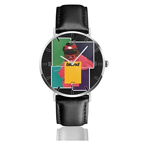 Los niños Miran Reloj Pulsera niño Historieta 3D Impermeable Frank Ocean Pantalla Redonda 38mm Batería de botón Poder Unisex Watch