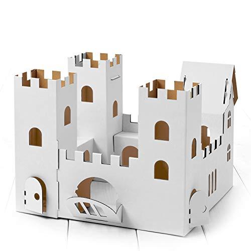 Calafant Große Burg D3501X – zum Basteln, Anmalen & Spielen. Das Original, direkt vom Hersteller.