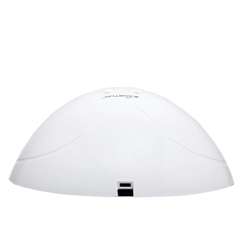 抜け目がないスムーズに仮説ネイルランプネイルドライヤー45s / 120sタイマー用UV LEDジェルネイルポリッシュマシン硬化用全てのゲルポリッシュ赤外線センサー