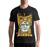 Claypool Lennon Delirium Men's Stylish Short Sleeve T Shirt LLJPJQKPYF Black