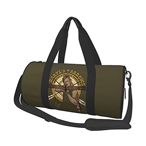 Rick Grimes Walking Dead Logo Bolsa de deporte bolsa de deporte bolsa de deporte bolsa de deporte bolsa de viaje de fin de semana bolsa de yoga unisex