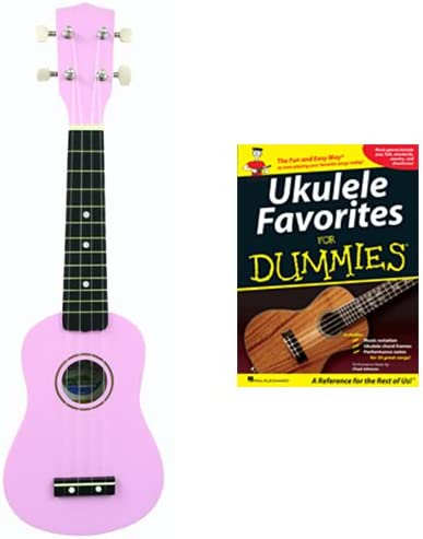 Ukulele For Direct stock discount Dummies Max 40% OFF Pack -Pink Bag Soprano F + w
