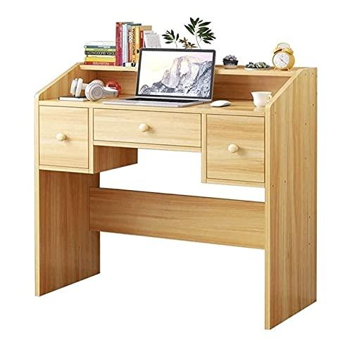 Tolalo Escritorio de ordenador,Escritorio de oficina de madera maciza de imitación simple y moderno, escritorio de escritura, tocador, estaciones de trabajo de computadora