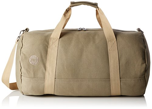 Mi Pac Duffel Bag - Quality Holdall Weekender Travel Bag, Flight Bag or Gym Bag | Water Resistant Fabric with Removable Shoulder Bag Strap for Men & Women - Khaki 30L