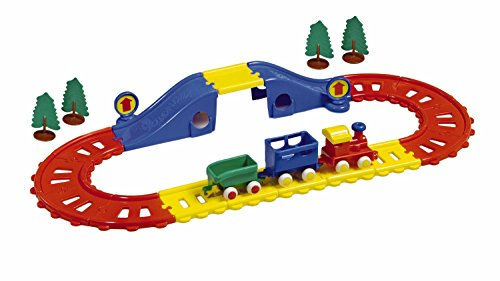 Viking Toys - V45573 - Circuit Train avec Pont - 23 pièces