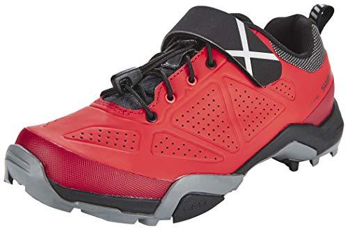 SHIMANO SHMT5OG390SR00 - Zapatillas Ciclismo, 39, Rojo, Hombre