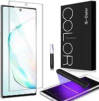 G-Color Galaxy Note 10 Plus Protector Pantalla, [Alta Viscosidad], Cristal Vidrio Templado de 3D [Alta Sensibilidad] [9H...