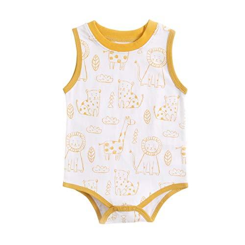 UMore Bebé Mono Mameluco de Manga Corta Niños Niñas Body Peleles Pijama Regalo de Recien Nacido