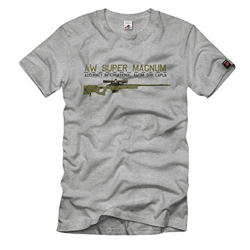 Copytec AWSM 338 Lapua AWM Sniper Scharfschützengewehr Gewehr Scharfschütze #820, Größe:XXL, Farbe:Grau