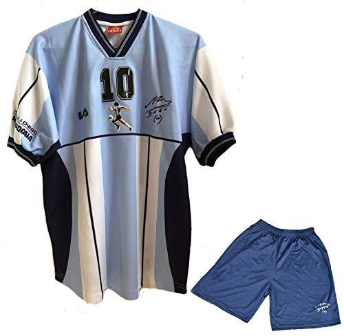SGGMRR Gedenken, Maradona Football Jersey, Maradona Abschied von Pensionen Fußballkleidung, schnell trocknend, atmungsaktiv M