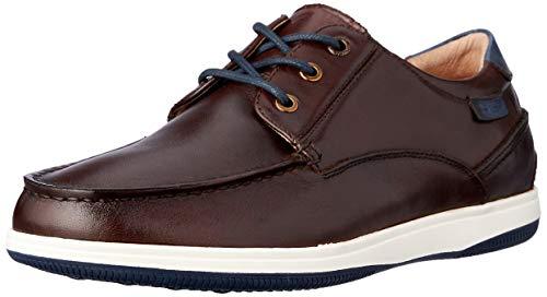 Hush Puppies Men's DUSTY Casual Shoes, COGNAC BURNISH, 7 AU