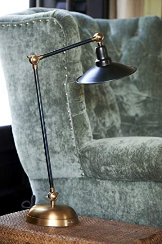 Riviera Maison - Soho Square Desk Lamp Black