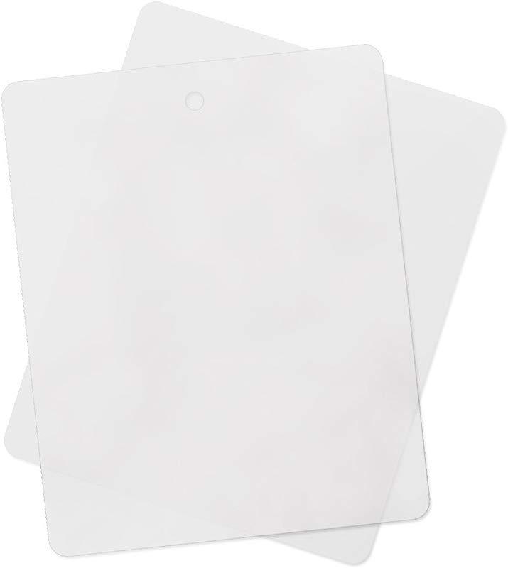 8 Pack Thin Clear Flexible Cutting Board Chopping Mat 12 X 15