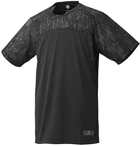 DESCENTE(デサント) ベースボールシャツ 大谷翔平コレクション DBMNJA50SH ブラック(BK) S