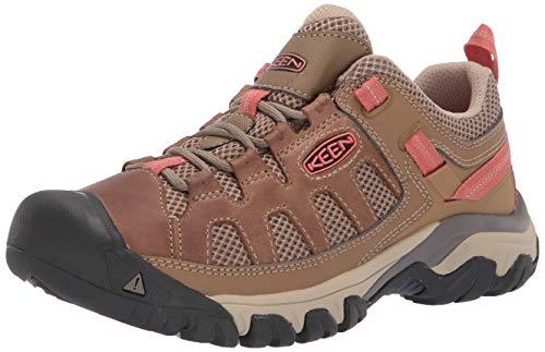 KEEN womens Targhee Vent Hiking Shoe, Sandy/Cornstalk, 7.5 US