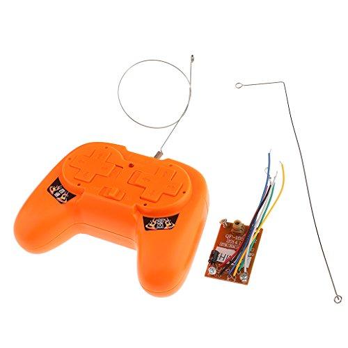 Sharplace Control Remoto Receptor Teledirigido de Transmisor para RC Parts ACCS Juguete Regalo de Navudad de Niño