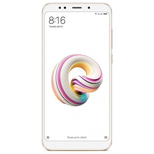 """小蜜红米手机5 5.99加上智能手机"""",双卡双待,4G的Snapdragon 625,3GB RAM,ROM 32GB,卧室12MP,机器人,金"""