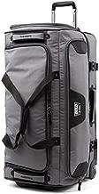 Travelpro Bold Drop Bottom Wheeled Rolling Duffel Bag, Grey/Black, 30-Inch