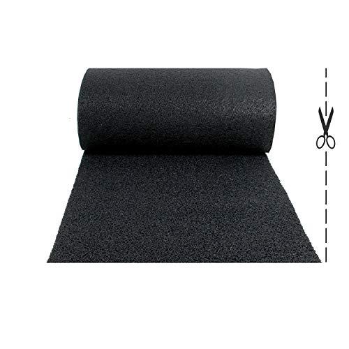 Olivo.Shop – Alfombra antideslizante de rizo de vinilo para entrada externa. Felpudo a medida de vinilo, atrapa la suciedad y lavable para interior (100 x 100 cm)