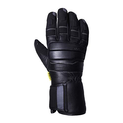 Knox Storm - Motorradhandschuh für den Winter/wasserdicht, Black, XL