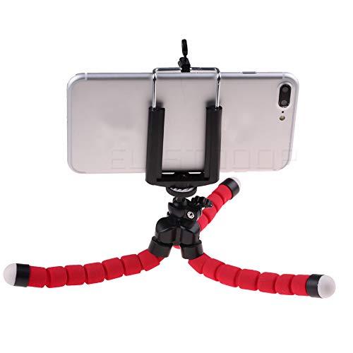 NNDQ Flexibles Handy-Stativ und tragbarer Action-Kamerahalter, Telefon-Stativ, Flexibles Stativ, Upgrade 4-Achsen-Winkeleinstellung