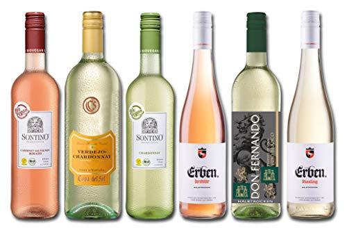 Langguth Erben Halbtrockenes Rose und Weißwein Probierpaket (5 x 0.75 l, 1 x 1 l)